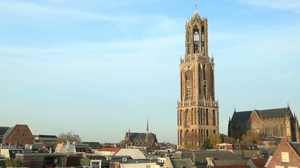 Dom Tower of St Martin's Cathedral in Utrecht