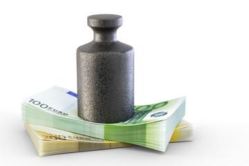 Gewicht Geld