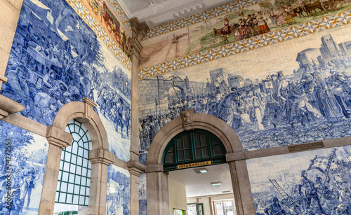 Corner of the Porto train station, Sao Bento - 74272553