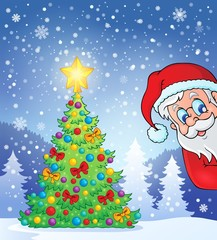 Christmas tree theme 7