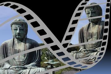 Bouddhisme  -  Lieu de culte  - Film