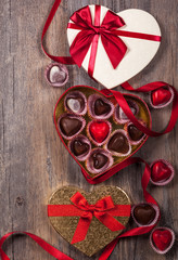 chocolates for Valentine's Day
