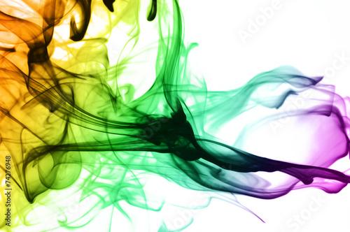 Leinwandbild Motiv colored smoke