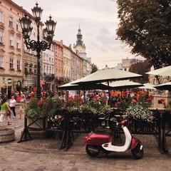 lviv city landscape