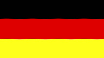 Deutschland Flagge Animation