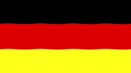 Deutschland Flagge Animation
