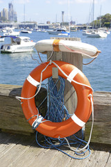 Lifesaver / life preserver isolated