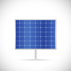 Solar Panel Illustration