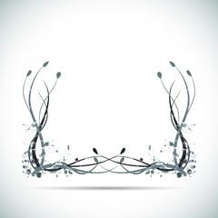 Grunge Swirls Illustration