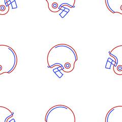 Background for American football helmet