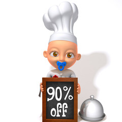 Baby Jake Chef 90 percent discount