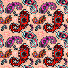 seamless orient pattern. vector illustration