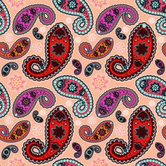 seamless orient pattern. vector illustration