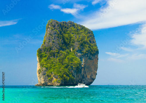 Fotobehang Eilanden Exotic Getaway Idyllic Seascape
