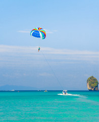 Parasailing Sky Vacation Exercise