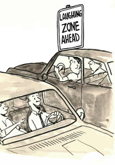 Laughing Zone Ahead