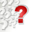Fragezeichen 3d rot weis  #141206-svg01