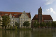 canvas print picture - Hl Geist Kirche Landshut