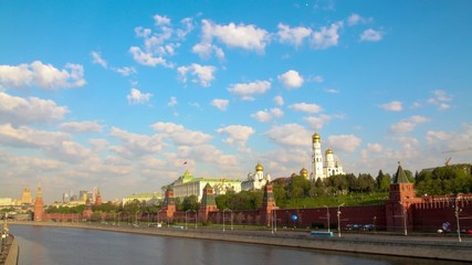 MOSCOW.Kremlin. Palace of Congresses.Timelapse.