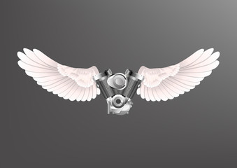 Winged Engine