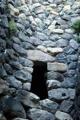 Sardinia.Interior of Complex of Barumini