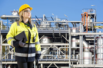 Petrochemical plant operator