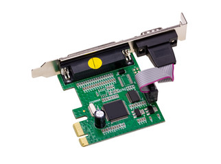 Electronic collection - Computer digital I/O port Card