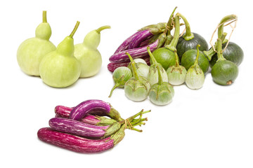 Mix vegetable: Bottle Gourd,Cockroach Berry, Eggplant and Young