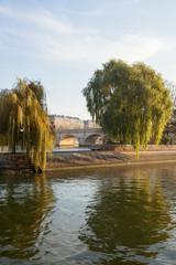 Cite island in Paris, France.