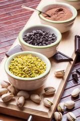 Ingredienti per cioccolatini e praline