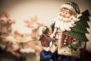 Statuetta di Babbo Natale