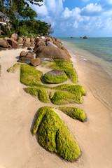 sea, beach, stones