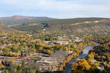 Durango, CO - Train next to the River