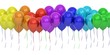 Colors balloons
