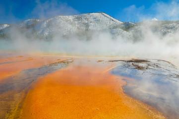 Grand Prismatic Spring, Yellowstone National Park (USA)