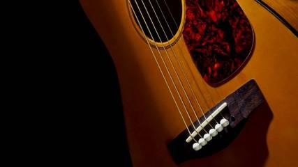 Tilt up in an accoustic guitar
