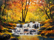 oil painting on canvas - 74294790
