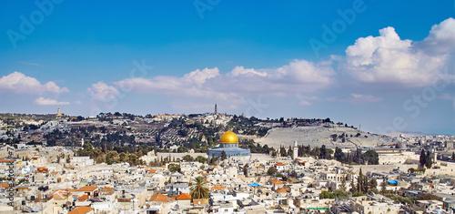 Plexiglas Midden Oosten Jerusalem old sity view