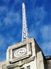 Antenna of BBC Broadcasting House