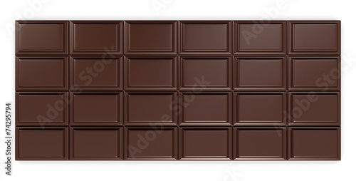Foto op Canvas Koekjes chocolate bar
