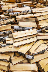 woodpile background