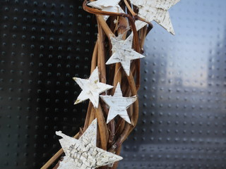 braided chaplet stars