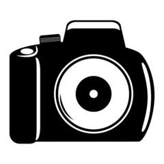 reflex camera vector