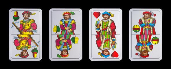 Spielkarten - Schnapskarten  OBER