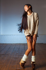 Young japanese woman fashion