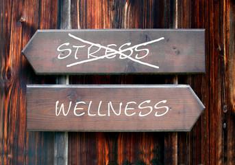 Strassenschild 28 - Wellness