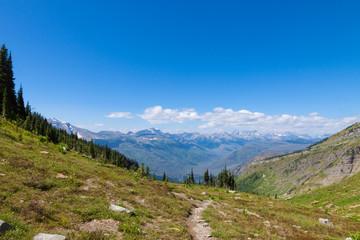 MT-Glacier National Park-Highline Trail