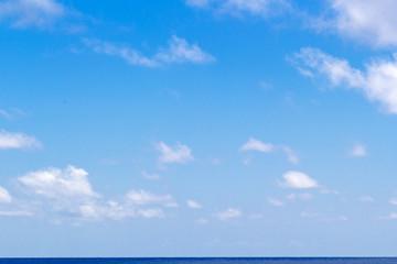 ciel sur horizon