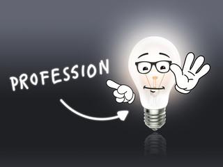 Profession Bulb Lamp Energy Light gray