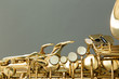 Leinwanddruck Bild - Saxophone